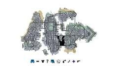 Liberty City Map V Style