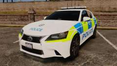 Lexus GS350 West Midlands Police [ELS]