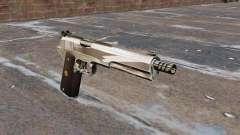 Le pistolet semi-automatique AMT Hardballer