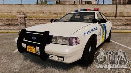 GTA V Vapid State Police Cruiser [ELS] für GTA 4