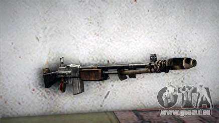 Browning M1918 pour GTA San Andreas