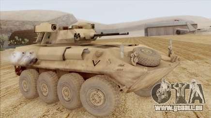 LAV-25 Desert Camo pour GTA San Andreas