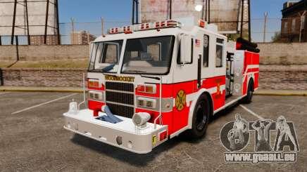 Firetruck Woonsocket [ELS] pour GTA 4