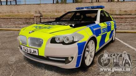 BMW 550i Metropolitan Police [ELS] pour GTA 4