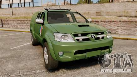 Toyota Hilux Land Forces France [ELS] für GTA 4