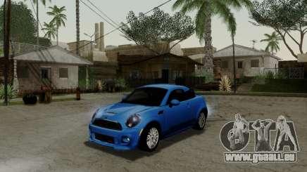 MINI Cooper S 2012 für GTA San Andreas