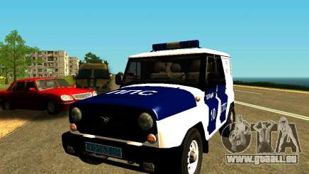 UAZ Hunter-PPP für GTA San Andreas