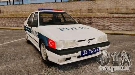 Renault 19 Turkish Police für GTA 4