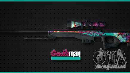 AWP from CS GO Gentleman pour GTA San Andreas