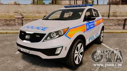 Kia Sportage Metropolitan Police [ELS] für GTA 4
