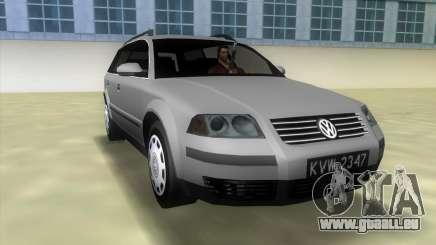 Volkswagen Passat B5+ Variant 1.9 TDi pour GTA Vice City