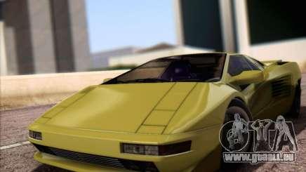 Cizeta Moroder V16T 1988 für GTA San Andreas