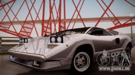 Lamborghini Countach 25th Anniversary pour GTA San Andreas