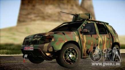 Dacia Duster Army Skin 2 für GTA San Andreas