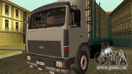 Transporteur de bois 6430 MAZ pour GTA San Andreas