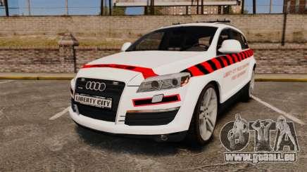 Audi Q7 Enforcer [ELS] pour GTA 4