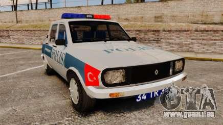 Renault 12 Turkish Police für GTA 4