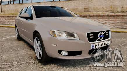 Volvo V70 Unmarked Police [ELS] für GTA 4