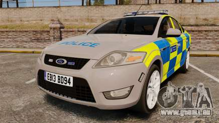 Ford Mondeo Metropolitan Police [ELS] pour GTA 4