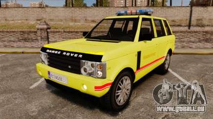 Range Rover Vogue Brannvesenet für GTA 4