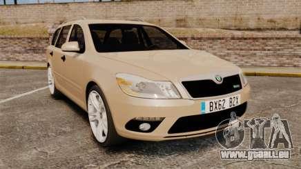Skoda Octavia RS Stock pour GTA 4