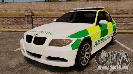 BMW 330i Ambulance [ELS] pour GTA 4