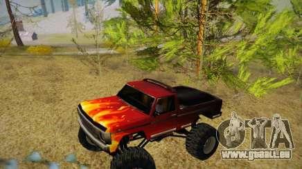 Nouvelles textures pour le monstre (A) pour GTA San Andreas