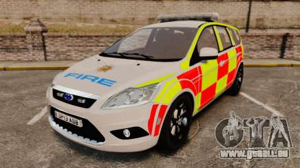 Ford Focus Estate 2009 Fire Car England [ELS] für GTA 4