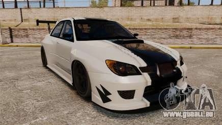 Subaru Impreza v2.0 pour GTA 4