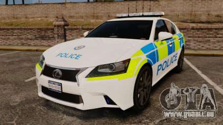 Lexus GS350 West Midlands Police [ELS] für GTA 4