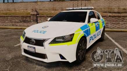 Lexus GS350 West Midlands Police [ELS] für GTA 4