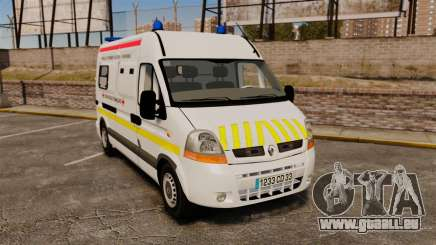 Renault Master French Red Cross [ELS] pour GTA 4