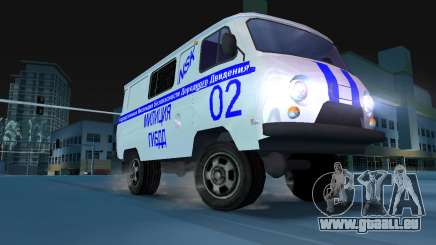 UAZ-3741 GIBDD für GTA Vice City