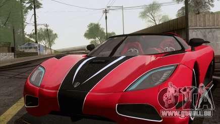 Koenigsegg Agera R 2011 für GTA San Andreas
