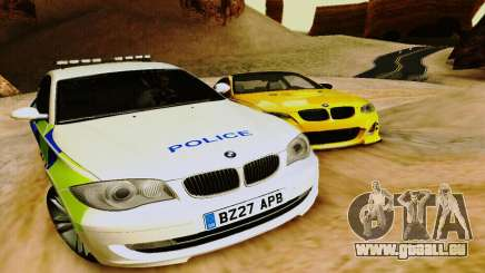 BMW 120i SE Police für GTA San Andreas