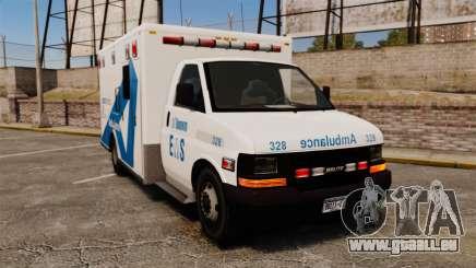 Brute Ambulance Toronto [ELS] pour GTA 4