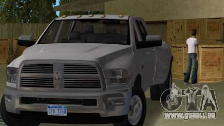 Dodge Ram 3500 Laramie 2012 pour GTA Vice City