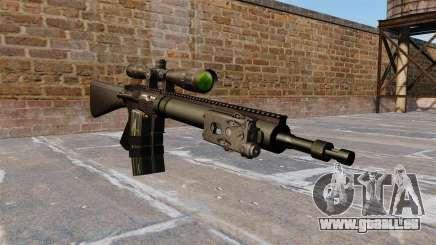 Fusil de sniper Mk 12 pour GTA 4