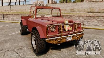 GTA V Canis Bodhi (Trevor Car) für GTA 4