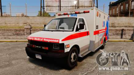 Brute Liberty Ambulance [ELS] pour GTA 4