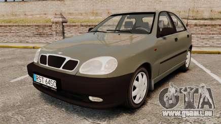 Daewoo Lanos S PL 2001 pour GTA 4