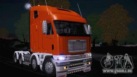 Freightliner Argosy 8x4 für GTA San Andreas linke Ansicht
