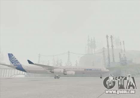Airbus A340-600 pour GTA San Andreas vue de droite