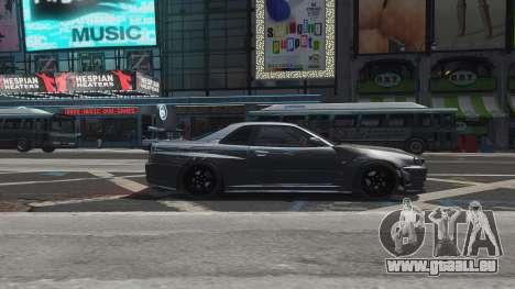 Nissan Skyline GTR-34 Nismo Z-Tune für GTA 4-Motor