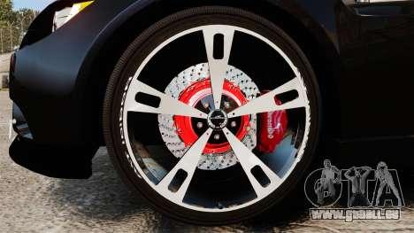 BMW M3 E92 AC Schnitzer ACS3-Sport v2.0 pour GTA 4 Vue arrière