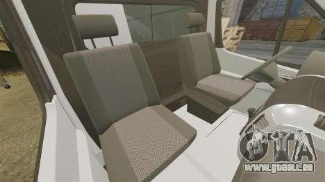 Mercedes-Benz Sprinter Police [ELS] pour GTA 4 est une vue de l'intérieur