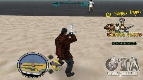 Hud By Fawkes für GTA San Andreas dritten Screenshot