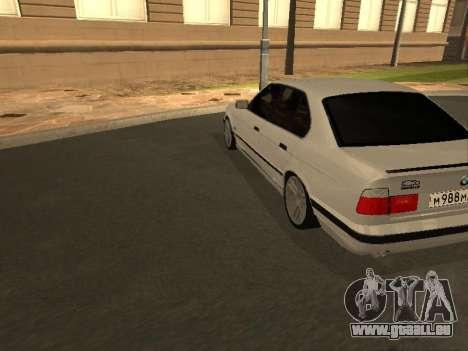 BMW 525 Smotra für GTA San Andreas rechten Ansicht
