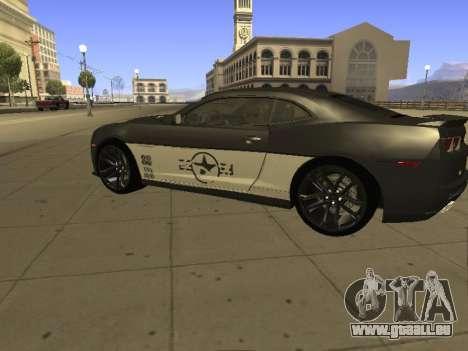 Chevrolet Camaro ZL1 für GTA San Andreas linke Ansicht