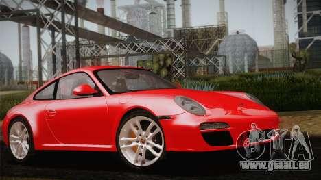 Porsche 911 Carrera pour GTA San Andreas vue intérieure